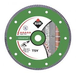 Rubi TSV 125 Pro Diamant Trennscheibe Beton Nass Trocken Diamanttrennscheibe