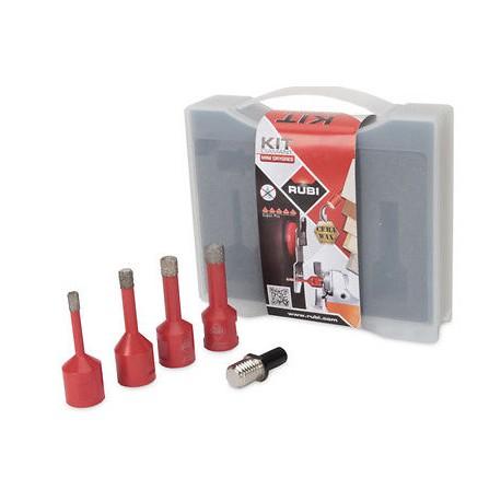 Rubi Bohrkronenset Mini Drygres Trockenschnitt Diamantbohrkronen 50938