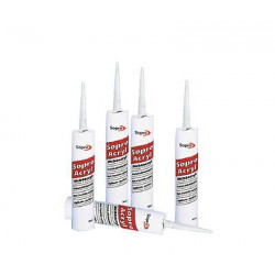 15,16€/L Sopro Dichtacryl DA 049 Acryl Silikon Dichtmasse Dichtstoff Fugen 310ml weiß