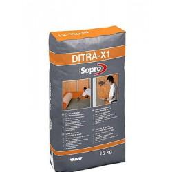 2,27€/KG Sopro DITRA X1 Premium Kleber 658 Wand Boden für Schlüter Kerdi Fliesen 15 kg