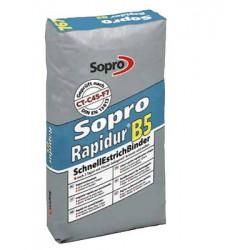 1,12€/KG Sopro Rapidur B5 Schnellestrichbinder SEB 767 Schnell Estrich Mörtel 25 kg