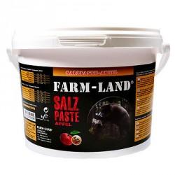 Farm-Land Salzpaste Apfel Mineralsalze Wild Fütterung Kirrung Jagd Revier 2,5kg