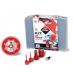 Rubi KIT TCR Drygres Bohrkronen Bohrkronenset Diamantbohrkronen 68923