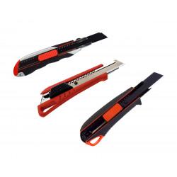 Würth Universal Messer Cuttermesser Teppichmesser extrem Scharf m. 3 Klingen 2K