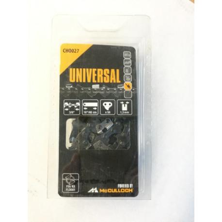 McCulloch Universal 00057-76.15127 Kette 40 cm, 56 TG Sägekette